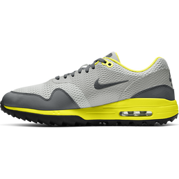 Air Max 1 G Men's Golf Shoe - Grey/Yellow