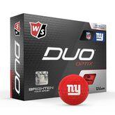 DUO Optix NFL Golf Balls - New York Giants