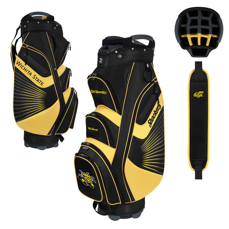 Team Effort Wichita State Bucket II Cart Bag