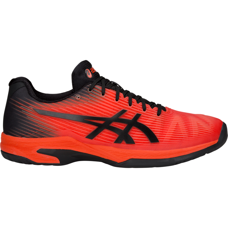 Solution Speed FF Men's Tennis Shoe - Black/Orange
