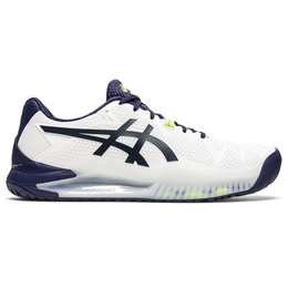 Men's Gel Resolution 8 Tennis Shoe - White/Navy
