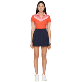 Alternate View 1 of Lilly Color Block Polo Shirt