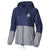 NY Yankees Women's Windbreaker