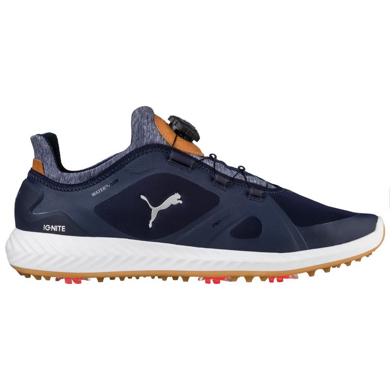 PUMA IGNITE PWRADAPT DISC Men's Golf Shoe - Navy/White