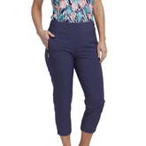 Tropical Collection: Pull On Capri Pants