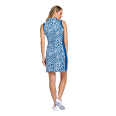 Alternate View 2 of Tranquil Bay Collection: Leopard Print Sleeveless Golf Dress
