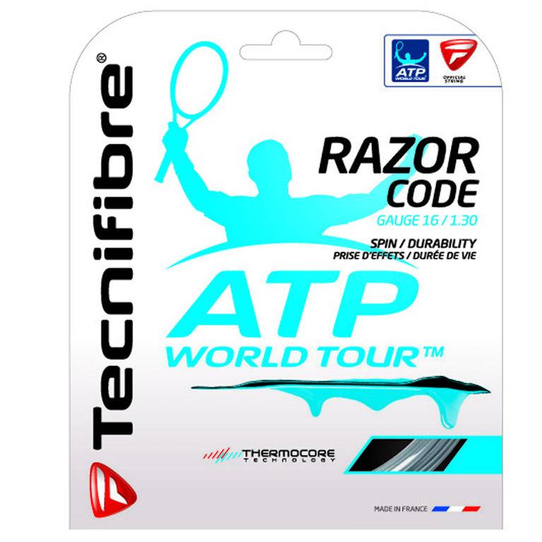 Tecnifibre ATP Razor Code 16 Gauge String Set - Carbon