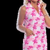 Alternate View 2 of St. Regis Sleeveless Coral Print Dress