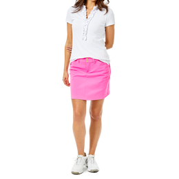 Frida Ruffle Collar Short Sleeve Polo