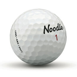 TaylorMade Noodle Long & Soft Golf Balls - 24 Pack