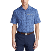 Classic Fit Tech Jersey Happy Crabs Polo Shirt