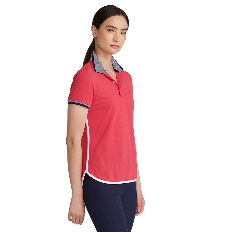 Tailored Fit Short Sleeve Polo Shirt