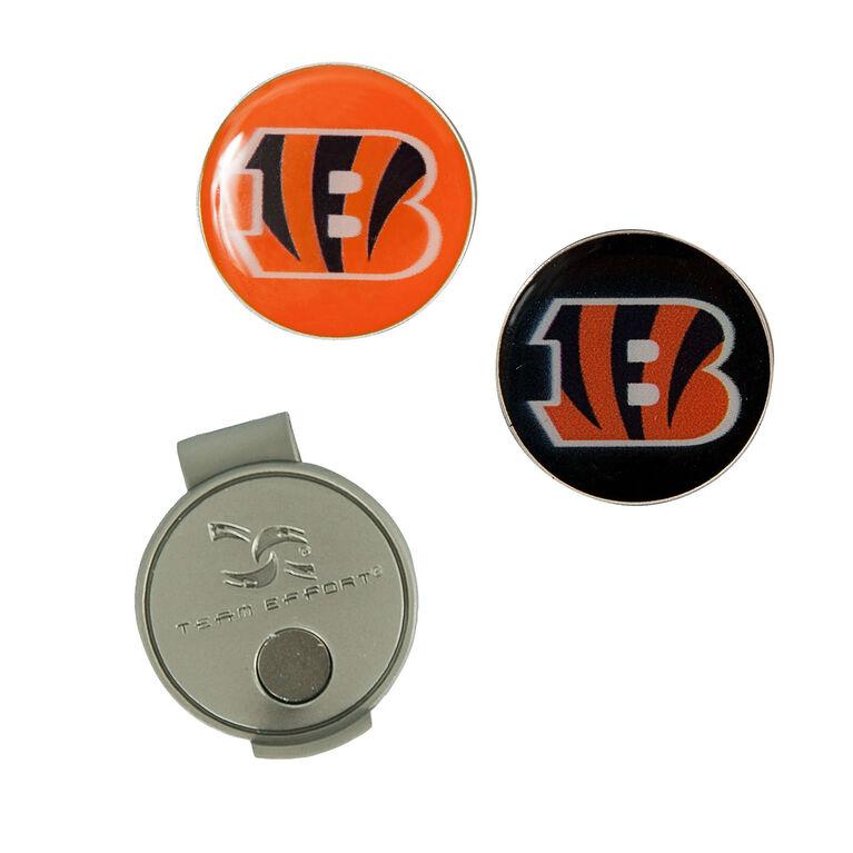 Team Effort Cincinnati Bengals Hat Clip & Ball Marker