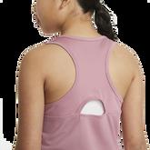 Alternate View 3 of Dri-FIT Victory Sleeveless Junior Girls' Tennis Tank Top