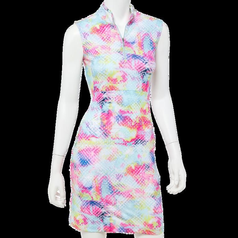 To Dye For Collection: Rainbow Tye Dye Sleeveless Dress