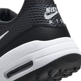 Alternate View 9 of Air Max 1 G Women's Golf Shoe - Black/White