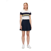 Alternate View 1 of Jade Short Sleeve Striped Polo Shirt