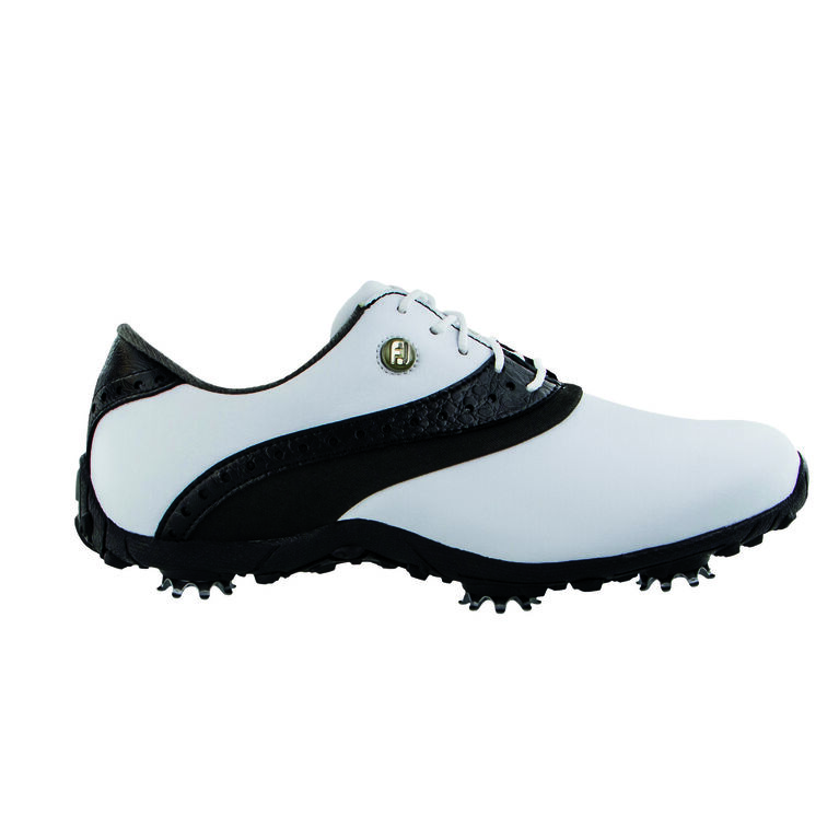 LoPro Collection Women's Golf Shoe - White/Black