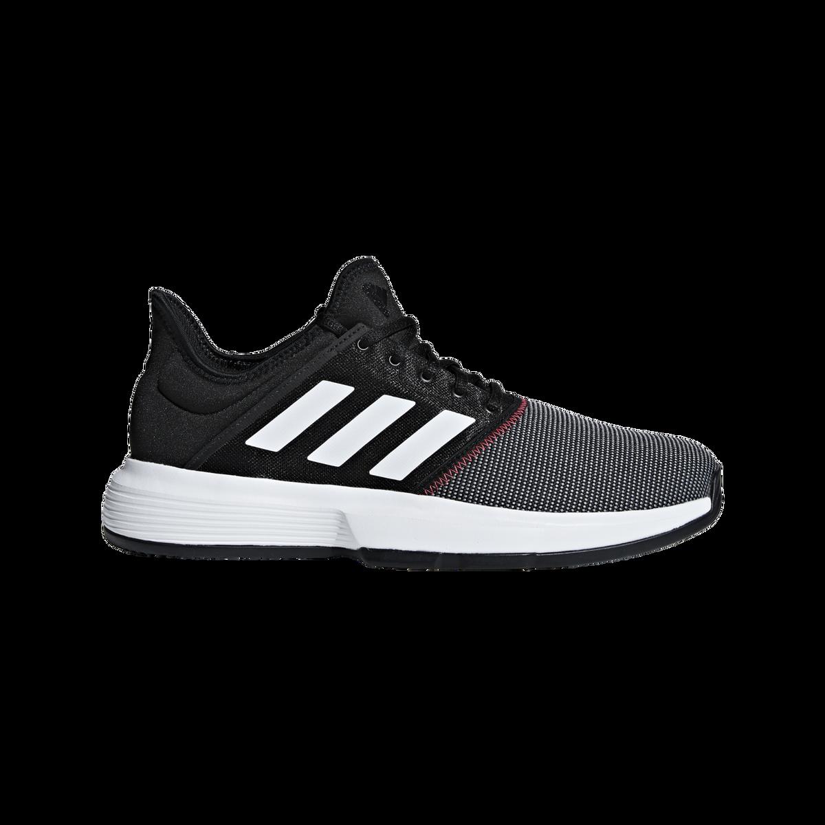 low priced 13d17 d472f Images. adidas GameCourt Men  39 s Tennis Shoe - Black White