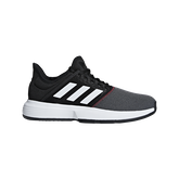 adidas GameCourt Men's Tennis Shoe - Black/White