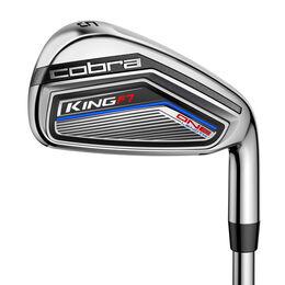 Cobra King F7 OL Irons 5-P,GW w/Steel Shafts