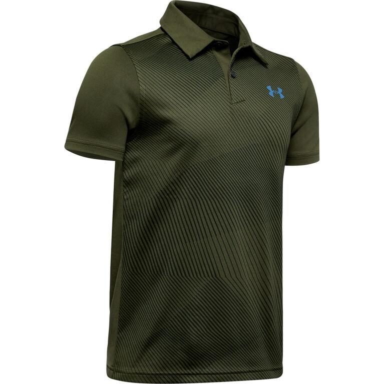 UA Vanish Bunker Boys' Golf Polo Shirt