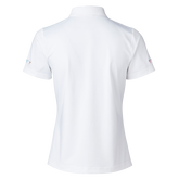 Alternate View 1 of Selma  Short Sleeve Embroidered Collar Polo Shirt