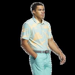 Vibes Print Polo Shirt