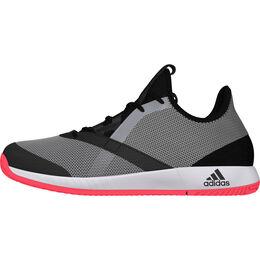 adidas adizero Defiant Bounce Men's Tennis Shoe - Black/Red