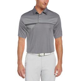 Front Panel Tech Short Sleeve Golf Polo Shirt