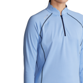 Alternate View 2 of Performance Golf Scallop Collar Quarter Zip Pull Over