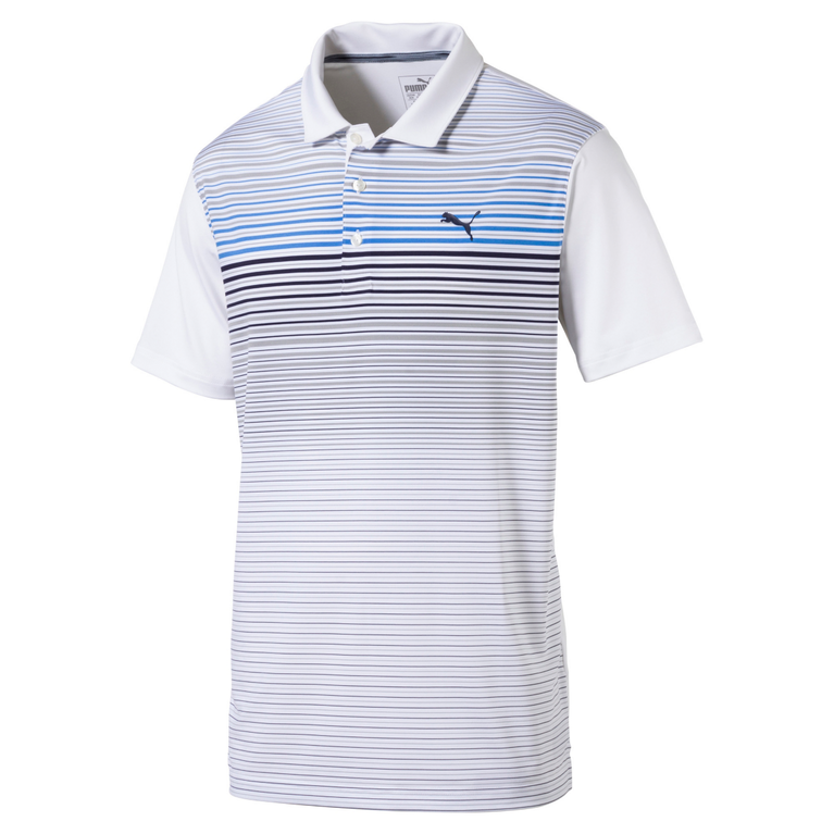 Puma Highlight Stripe Polo