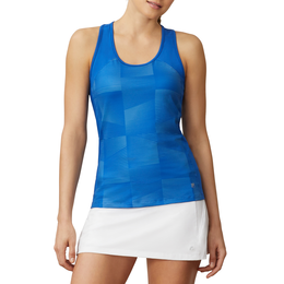 Core Printed Ribbed Tank Top