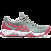 Gel Challenger 12 Clay Women's Tennis Shoes - Grey/Pink
