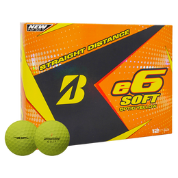 Bridgestone e6 Soft Golf Balls - Yellow