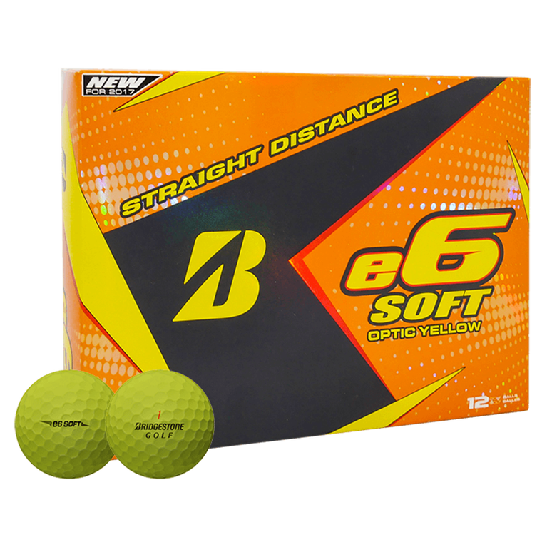 Bridgestone e6 Soft Golf Balls - Yellow
