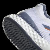 Alternate View 10 of Adizero Ubersonic 3 Men's Tennis Shoe - White/Blue