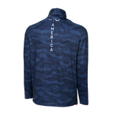 Alternate View 1 of Volition Flanked 1/4 Zip Pullover