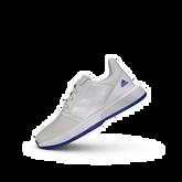 Alternate View 5 of ADIWEAR™ 6 CourtJam XJ Junior's Tennis Shoe - Off White/Royal Blue