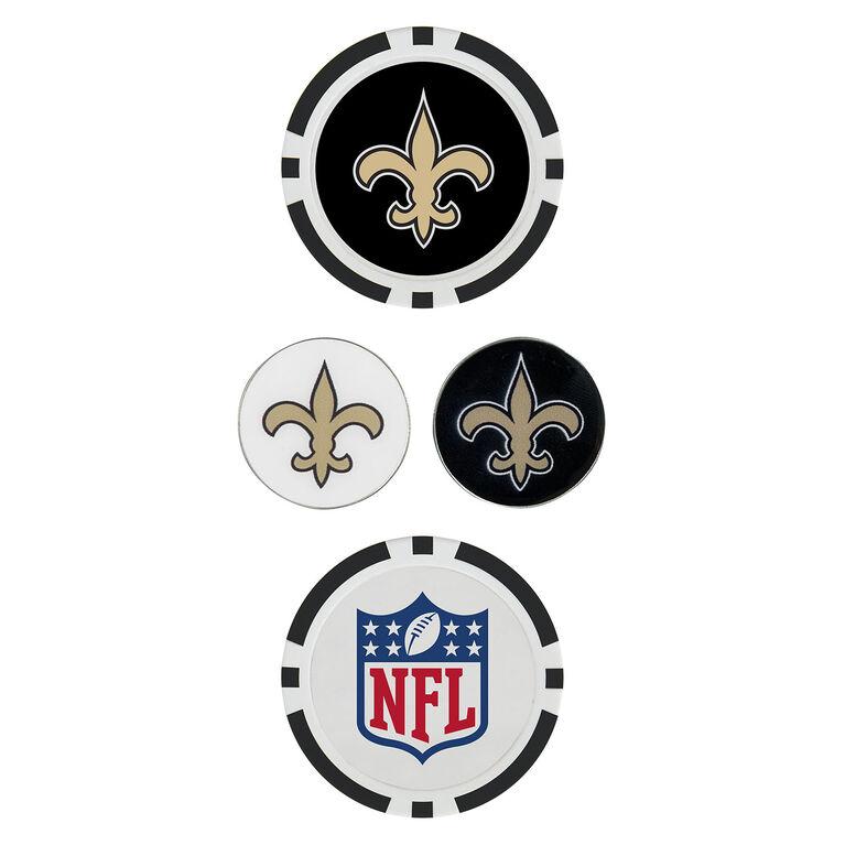 Team Effort New Orleans Saints Ball Marker Set