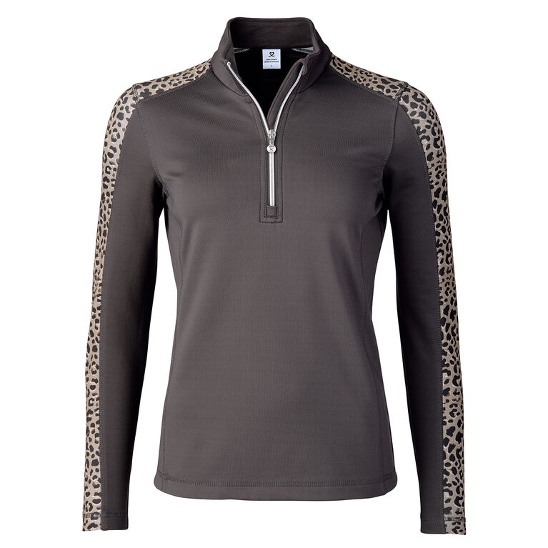 Cold Group: Leona Leopard Print Pull Over