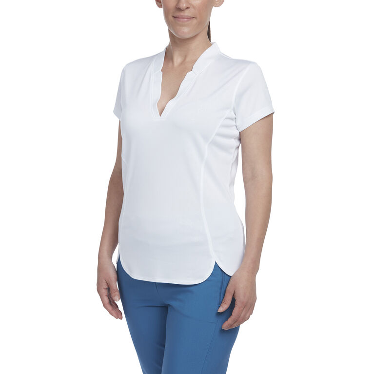 Hibiscus Group: Short Sleeve Embossed Polo