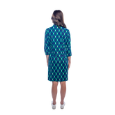 Alternate View 2 of Raleigh 3/4 Sleeve Linked Up Print Dress