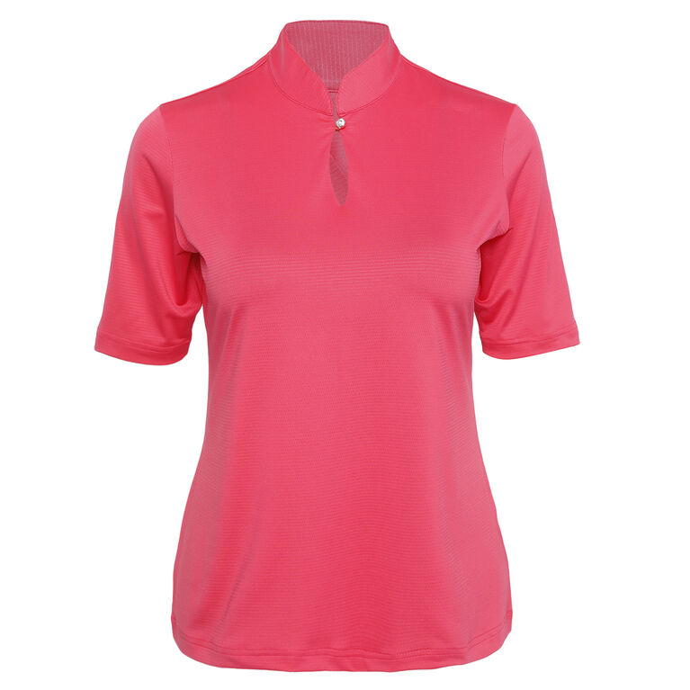 Outside The Lines: Hadley Elbow Sleeve Polo