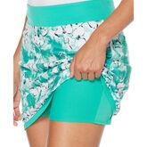 Green Group: Floral Print Golf Skort