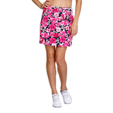Paradise Collection: Darby Floweret Pull On Skort
