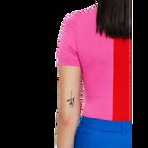 Alternate View 5 of Pink Group: Short Sleeve Hana Top