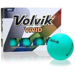 Volvik VIVID Golf Balls - Jade