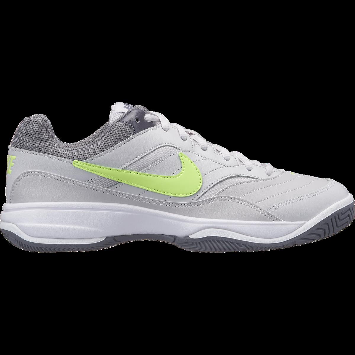 1ac93809 Nike Court Lite Women's Tennis Shoe - Grey/Green | PGA TOUR Superstore