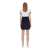 Alternate View 3 of Camille Short Sleeve Color Block Golf Polo
